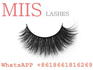 new real fur eyelashes label