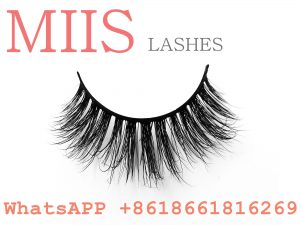 customizes false strip lashes