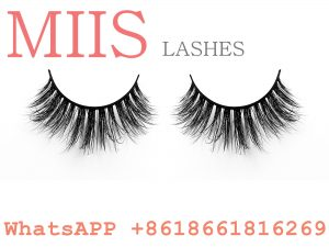 glossy false lashes