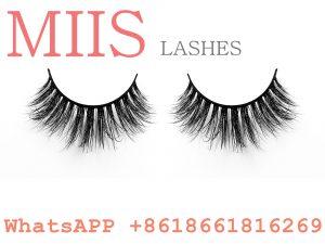 glossy false lashes