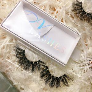 mink lashes custom packaging